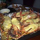 蒜蓉芝士焗大虾或龙虾