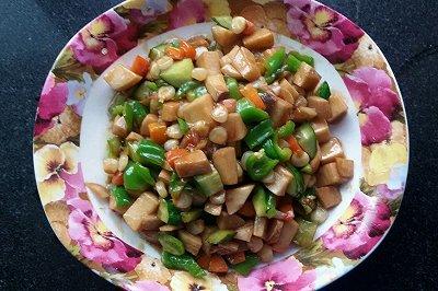 杂炒杏鲍菇(全素菜哟)