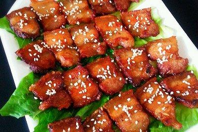 香煎孜然五花肉