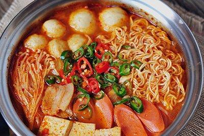 韩式辣白菜汤