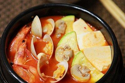 韩式泡菜海鲜