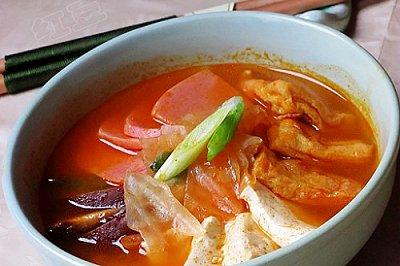 韩国火腿泡菜
