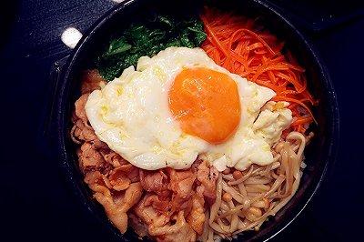 零基础韩式石锅拌饭