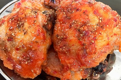 不用油炸的韩国炸鸡(空气炸锅)