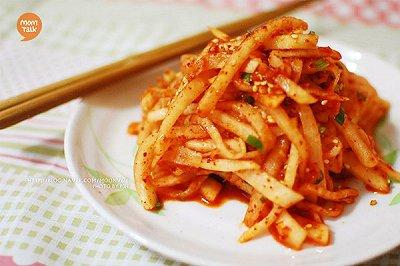 韩式萝卜条泡菜