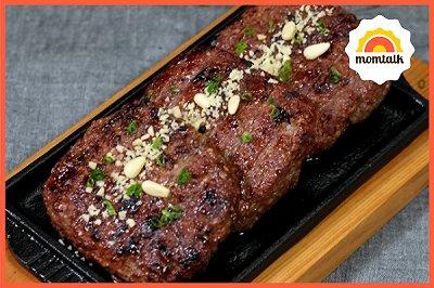韩式年糕牛肉饼