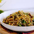 黄豆芽炒韭菜