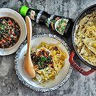 超快手豉汁香菇豆芽饭