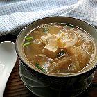 猪皮豆腐酸辣汤