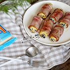 培根芝士海苔饭团