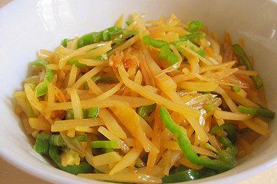 下饭菜 酸辣青椒土豆丝