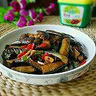 鱼香茄子(免油炸)