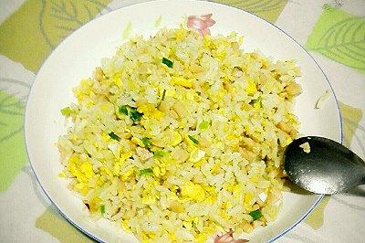 懒人虾米蛋炒饭