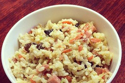什锦蛋炒饭(家庭普通版)