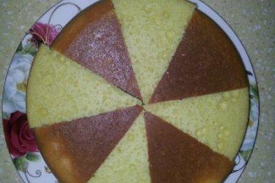 简易版电饭锅蛋糕