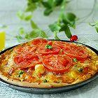 虾仁时蔬披萨