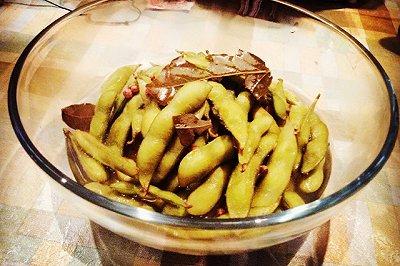 煮毛豆(下酒小菜)