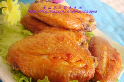 电饼铛版奥尔良烤翅