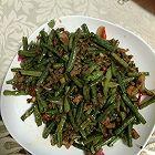 肉沫炒豇豆