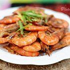 蒜香焖大虾