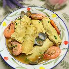 海鲜百叶包