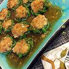 盘龙豇豆酿虾肉