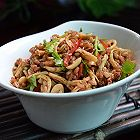 鸡丝红米饭