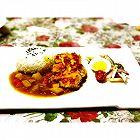 鸡排咖喱饭