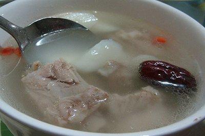 红枣山药排骨汤