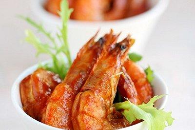 美味番茄虾