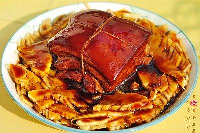 竹笋东坡肉