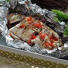 锡纸包烤鲈鱼