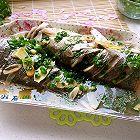 葱油海鲈鱼
