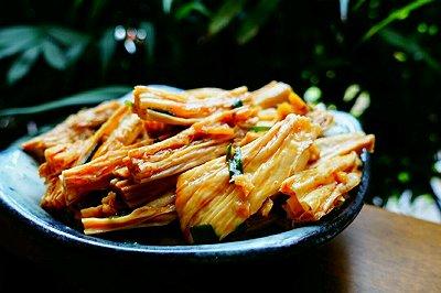 湖南年夜饭必备:凉拌豆笋