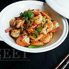 丝瓜咸焖虾