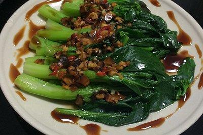 白灼菜心粤菜