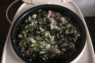 电饭锅版咸肉菜饭