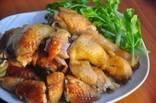 电饭锅盐焗鸡