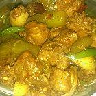 莴笋土豆烧鸭肉