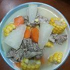 鸭肉鲜蔬汤