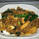腐支焖豆干