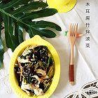 木耳腐竹拌菠菜