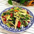 黄瓜彩椒拌腐竹