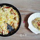 鱼丸面条披萨