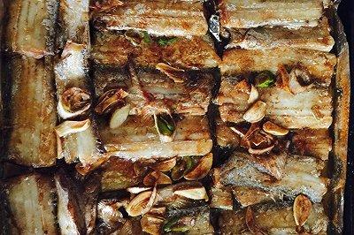 烤箱烤带鱼