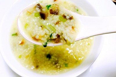 养生粥小米炖海参