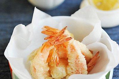 鲜虾天妇罗