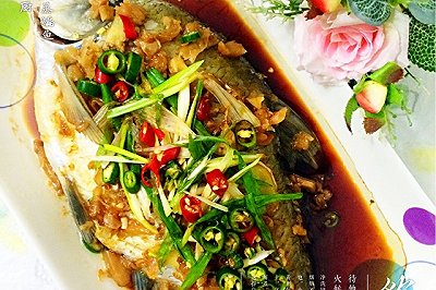私房冬菜蒸鳊鱼
