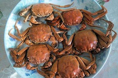 清蒸螃蟹(家常)