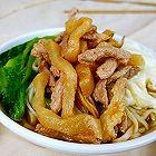 咸菜肉丝温汤面